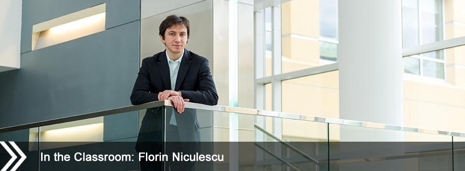 In the Classroom: Florin Niculescu
